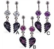 Best friend Belly rings