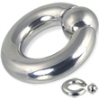 Spring ball captive bead ring, 00 ga