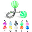 Beach ball twister, 14 ga