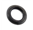 Black Titanium Anodized Segment Ring, 4 Ga