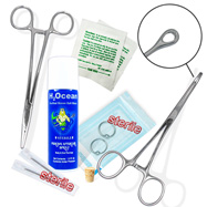 10-Piece Ear Piercing Starter Kit, Optional Gauge