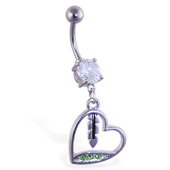 Extended Length Belly Button Rings
